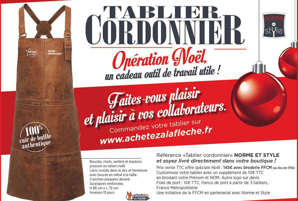 Opération Noël : commandez vos tabliers !